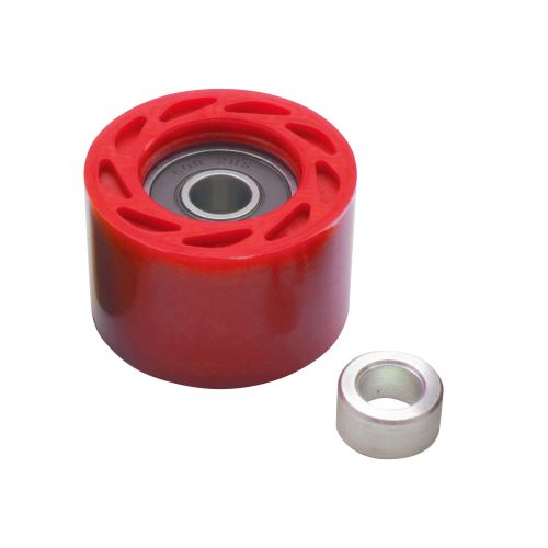 ROLLER CHAIN + BEARING O42MM RED