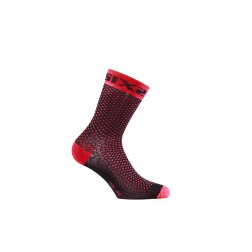 CHAUSSETTES SIXS COMP SHO, RED