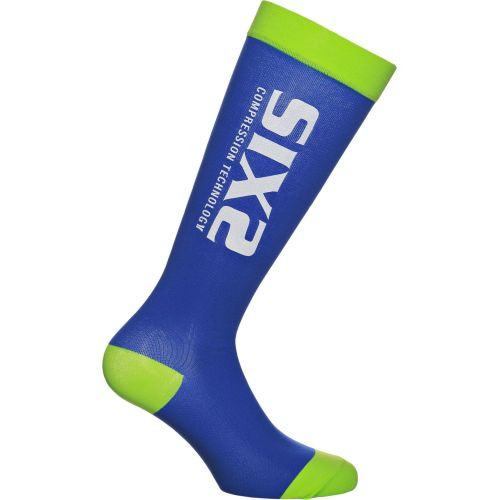 CHAUSSETTES RECOVERY SOCK, BLUE/GREEN