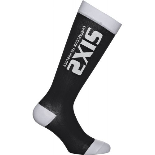 CHAUSSETTES RECOVERY SOCK, BLACK/WHITE