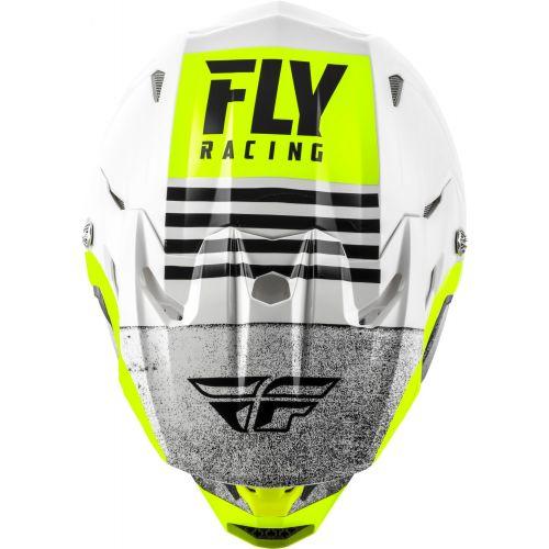 CASQUE FLY TOXIN MIPS EMBARGO 2020 BLANC/NOIR