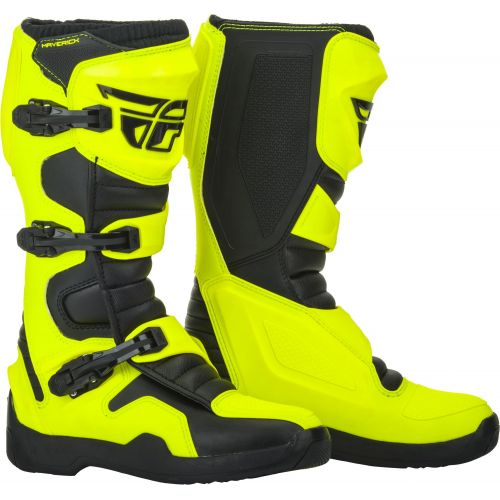 BOTTES FLY RACING MAVERIK JAUNE FLUO