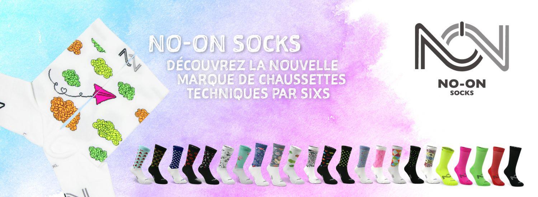 Les chaussettes NO-ON